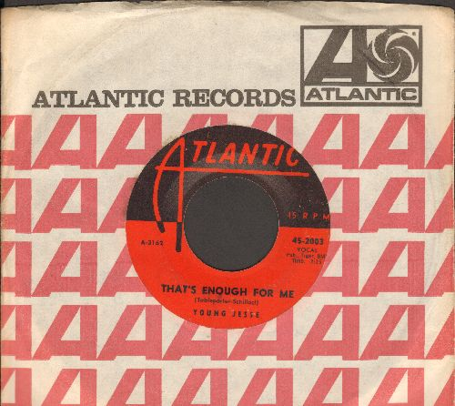 Young, Jesse - That's Enough For Me/Margie (with vintage Atlantic company sleeve) - VG6/ - 45 rpm Records