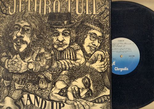 Jethro Tull - Stand Up: A New Day Yesterday, Look Into The Sun, Nothing Is Easy, For A Thousand Mothers (vinyl LP record, 1973 issue, gate-fold cover without pop-up) - EX8/EX8 - LP Records