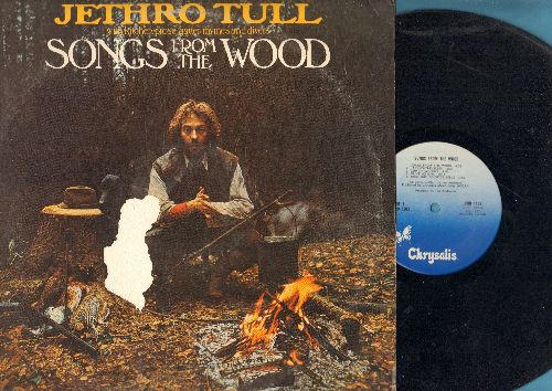 Jethro Tull - Songs From The Wood: Cup Of Wonder, Hunting Girl, Velvet Green, The Whistler, Fire At Midnight (vinyl LP record) - VG7/VG7 - LP Records