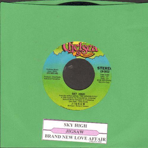 Jigsaw - Sky High/Brand New Love Affair (with juke box label) - NM9/ - 45 rpm Records
