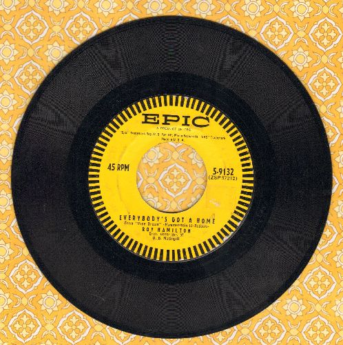 Hamilton, Roy - Everybody's Got A Home/Take Me With You (with vintage Epic company sleeve) - EX8/ - 45 rpm Records