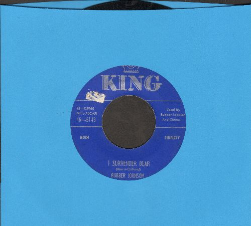 Johnson, Bubber - I Surrender Dear/Everybody's With You When You're Winning - VG7/ - 45 rpm Records