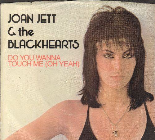 Jett, Joan & The Blackhearts - Do You Wanna Touch Me (Oh Yeah)/Victim Of Circumstance (with picture sleeve) - NM9/EX8 - 45 rpm Records