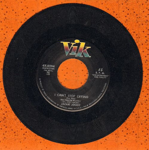 Jocko, Jackie - One Way Ticket/I Can't Stop Crying - EX8/ - 45 rpm Records