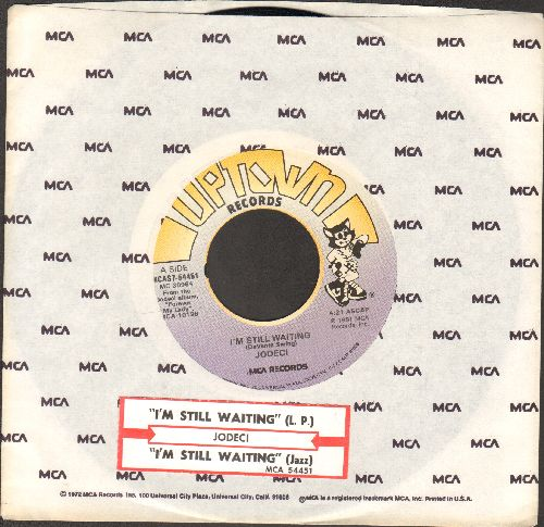 Jodeci - I'm Still Waiting/I'm Still Waiting (Jazz Version) (with MCA company sleeve and juke box label) - EX8/ - 45 rpm Records