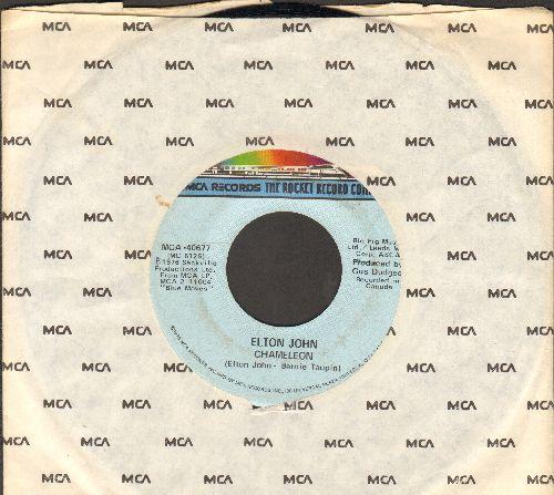 John, Elton - Chameleon/Bite Your Lip (with MCA company sleeve) - VG7/ - 45 rpm Records