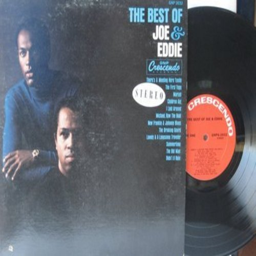 Joe & Eddie - Best Of: Mariah, Summertime, Michael Row The Boat Ashore, Didn't It Rain (Vinyl STEREO LP record) - NM9/VG7 - LP Records