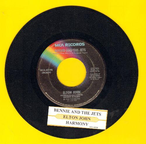 John, Elton - Benny And The Jets/Harmony(with juke box label) - VG7/ - 45 rpm Records