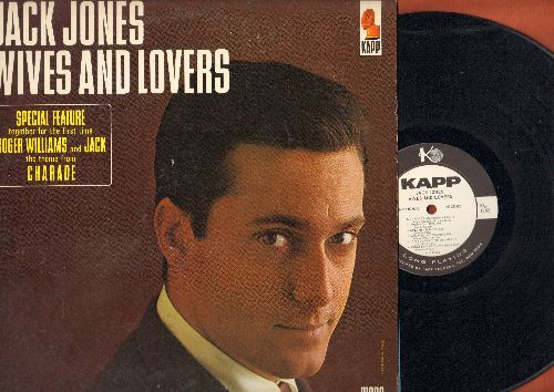 Jones, Jack - Wives And Lovers: Charade, Come Rain Or Come Shine, Toys In The Attic, Fly Me To The Moon (Vinyl MONO LP record, DJ advance pressing) - NM9/NM9 - LP Records