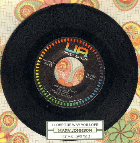 Johnson, Marv - I Love The Way You Love/Let Me Love You - VG7/ - 45 rpm Records