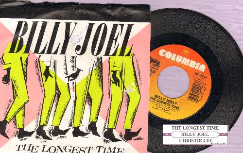 Joel, Billy - The Longest Time/Chritie Lee (with juke box label and picture sleeve) - NM9/EX8 - 45 rpm Records