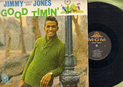 Jones, Jimmy - Good Timin': Then I'll Know, Handy Man, My Precious Angel, Ready For Love, I Just Go For You (vinyl MONO LP record) - EX8/EX8 - LP Records