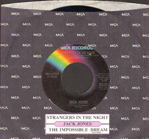 Jones, Jack - Strangers In The Night/The Impossible Dream - EX8/ - 45 rpm Records