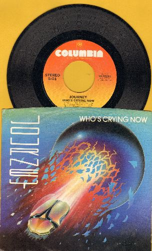 Journey - Who's Crying Now/Mother, Father (with picture sleeve) - NM9/EX8 - 45 rpm Records