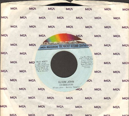 John, Elton - Bite Your Lip (Get Up And Dance!)/Chameleon (with company sleeve) - NM9/ - 45 rpm Records
