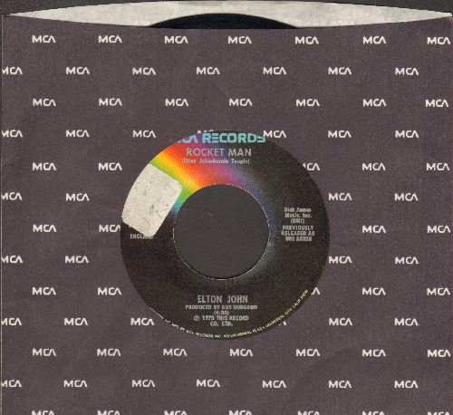 John, Elton - Rocket Man/Suzie (Dramas) (with MCA company sleeve)(sol) - EX8/ - 45 rpm Records