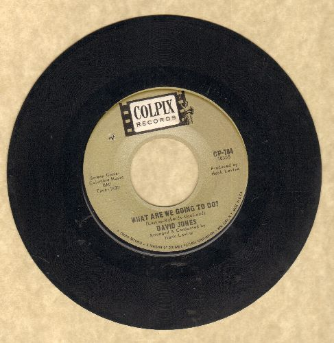 Jones, David - This Bouquet/What Are We Going To Do? (bb) - EX8/ - 45 rpm Records