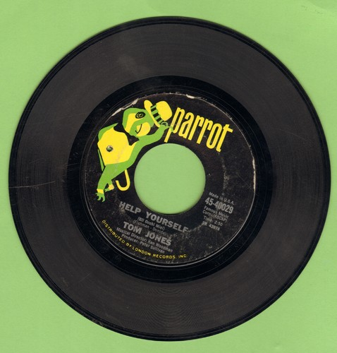 Jones, Tom - Help Yourself/Day By Day (bb) - VG7/ - 45 rpm Records