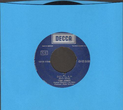 Jones, Tom - Delilah/Smile Away Your Blues (Greek Pressing) - VG7/ - 45 rpm Records