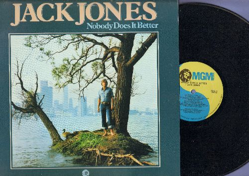 Jones, Jack - Nobody Does It Better: The Love Boat, Wives And Lovers, Just The Way You Are, My Eyes Adored You (Vinyl LP record) - NM9/EX8 - LP Records