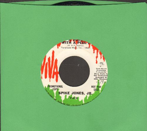 Jones, Spike Jr. - A Song With A Peel/Hooray For Hazel (DJ advance pressing) - NM9/ - 45 rpm Records