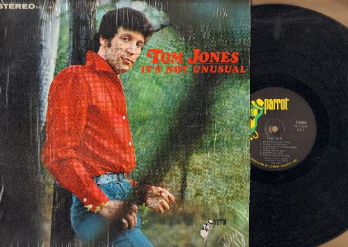 Jones, Tom - It's Not Unusual: Spanish Harlem, It's Just A Matter Of Time, Memphis Tennessee, Once Upon A Time (Vinyl STEREO LP record, with shrink wrap) - NM9/NM9 - LP Records