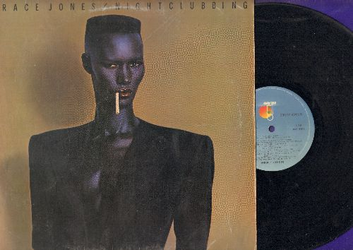 Jones, Grace - Nightclubbing: Pull Up To The Bumper, I've Seen That Face Before, Walking In The Rain (vinyl STEREO LP record) - VG7/VG7 - LP Records