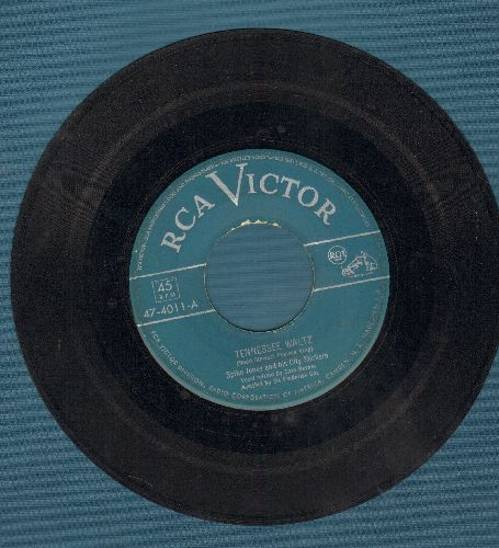 Jones, Spike & His City Slickers - Tennessee Waltz/I Haven't Been Home For Three Whole Nights - VG6/ - 45 rpm Records