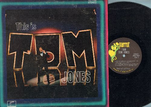 Jones, Tom - This Is Tom Jones: Little Green Apples, Let It Be Me, Hey Jude, (Sitting On) The Dock Of The Bay, Fly Me To The Moon (Vinyl STEREO LP record) - NM9/EX8 - LP Records