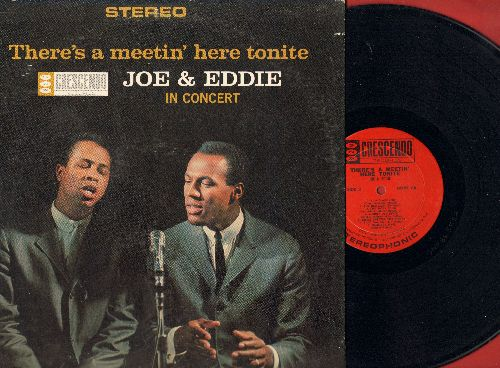 Joe & Eddie - There's A Meetin' Here Tonight: Scarlet Ribbons, Muddy Old River, Summer's Over, I laid Around (Vinyl LP record) - EX8/VG7 - LP Records