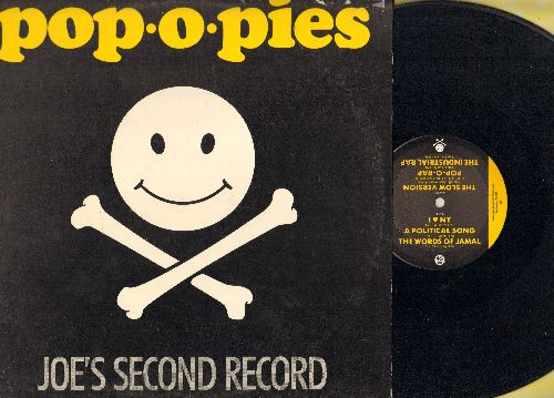 Pop-O-Pie, Joe - The Legendary Pop-O-Pies - Joes Second Record (Vinyl LP record, 1984 frst pressing of Electronic Punk recordings) - EX8/VG7 - LP Records