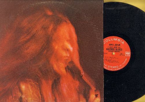 Joplin, Janis - Kozmic Blues: Maybe, To Love Somebody, Little Girl Blue (vinyl STEREO LP record) - EX8/VG7 - LP Records