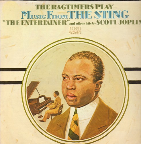 Ragtimers - Music From The Sting - The Entertainer and other hits by Scott Joplin (Vinyl STEREO LP record) - M10/EX8 - LP Records