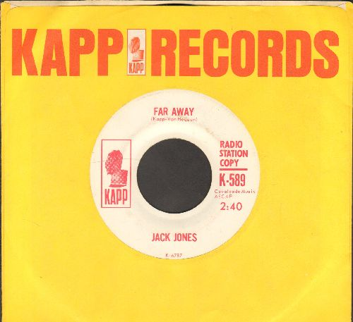 Jones, Jack - The First Of The Full Moon/Far Away (DJ advance pressing with Kapp company sleeve) - NM9/ - 45 rpm Records
