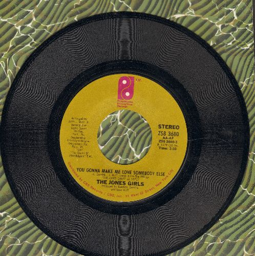 Jones Girls - You Gonna Make Me Love Somebody Else/Who Can I Run To - EX8/ - 45 rpm Records