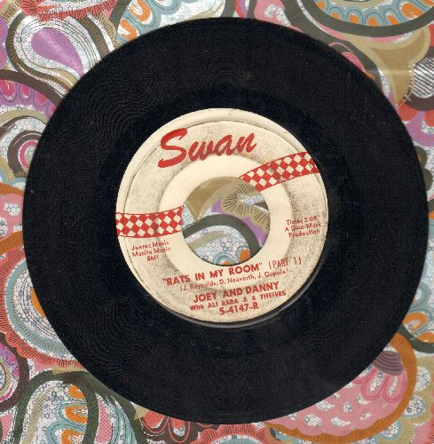 Joey & Danny with Ali Baba & The 4 Thieves - Rats In My Room (Parts 1 + 2) - VG7/ - 45 rpm Records