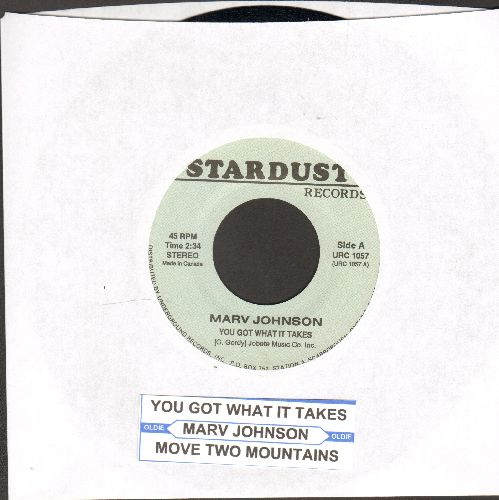 Johnson, Marv - You Got What It Takes/Move Two Mountains (double-hit re-issue with juke box label) - M10/ - 45 rpm Records