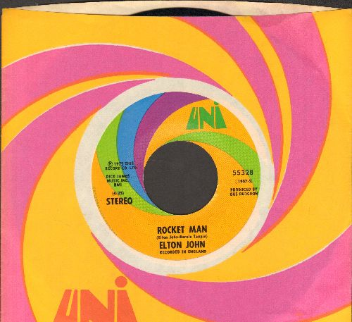 John, Elton - Rocket Man/Suzie (Dramas) (with Uni company sleeve) - EX8/ - 45 rpm Records