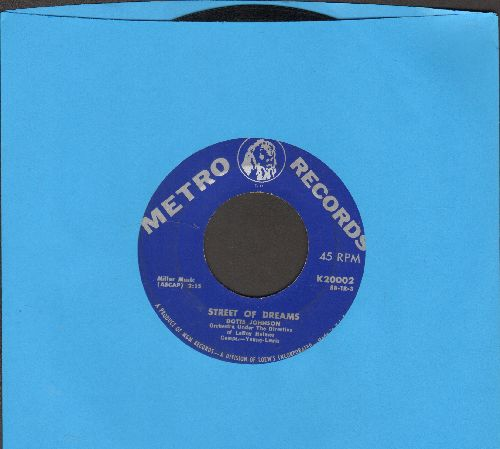 Johnson, Dotts - Street Of Dreams/Paradise - EX8/ - 45 rpm Records