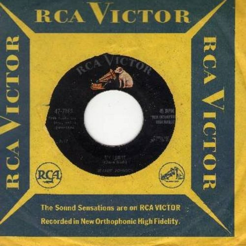 Johnson, Jeanie - My Jimmie/Next Thing To Paradise (with RCA company sleeve) - NM9/ - 45 rpm Records