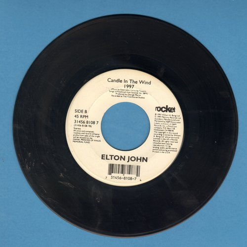 John, Elton - Candle In The Wind 1997 (Tribute to Princess Diana)/Something About The Way You Look Tonight - EX8/ - 45 rpm Records