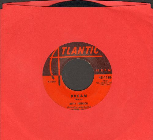 Johnson, Betty - Dream/How Much  - VG7/ - 45 rpm Records