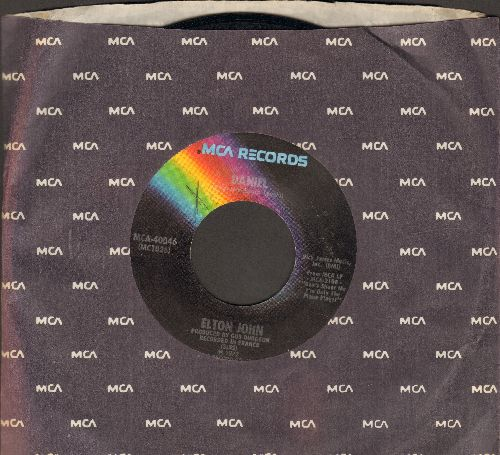 John, Elton - Daniel/Skyline Pigeon (with MCA company sleeve) - VG7/ - 45 rpm Records