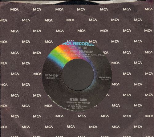 John, Elton - Lucy In The Sky With Diamonds/One Day At A Time (with MCA company sleeve) - EX8/ - 45 rpm Records