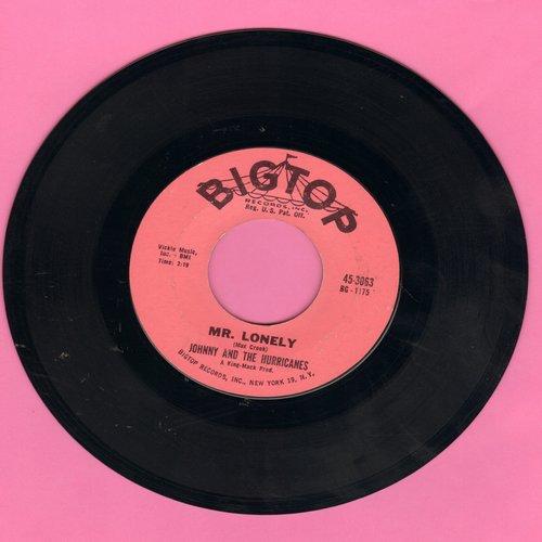 Johnny & The Hurricanes - Mr. Lonely/Ja-Da - EX8/ - 45 rpm Records