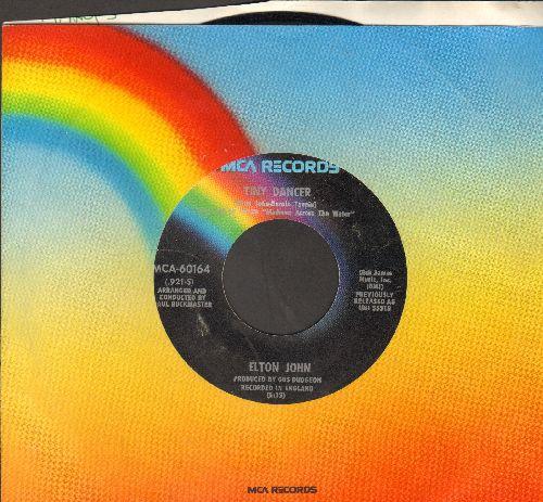 John, Elton - Tiny Dancer/Razor Face (with MCA company sleeve) - VG7/ - 45 rpm Records