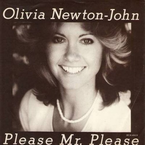 Newton-John, Olivia - Please Mr. Please/And In The Morning (with picture sleeve) - NM9/VG7 - 45 rpm Records