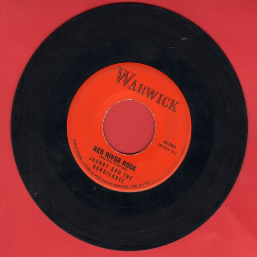 Johnny & The Hurricanes - Red River Rock/Buckeye  - EX8/ - 45 rpm Records