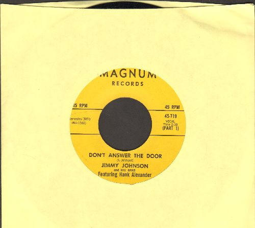 Johnson, Jimmy - Don't Answer The Door (Parts 1 + 2) - NM9/ - 45 rpm Records