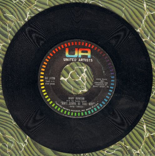 Johnson, Marv - Ain't Gonna Be That Way/All The Love I've Got  - EX8/ - 45 rpm Records